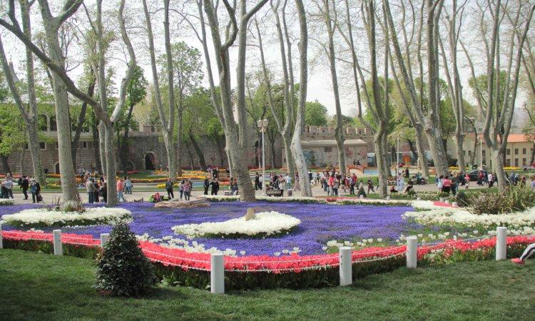 Garden of Topkapi Palace